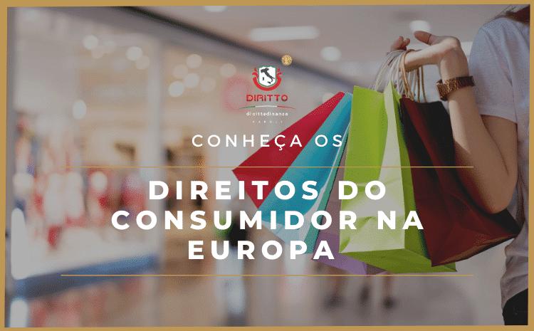 Direitos do Consumidor na Europa – Informações contratuais