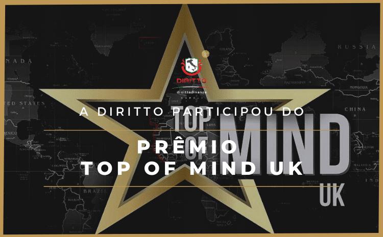 Falta um mês para o Top of Mind UK. Estaremos no evento ajudando a realizar sonhos.
