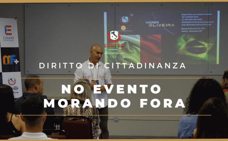 Diritto di Cittadinanza participou do evento Morando Fora, da Evolve Intercâmbio