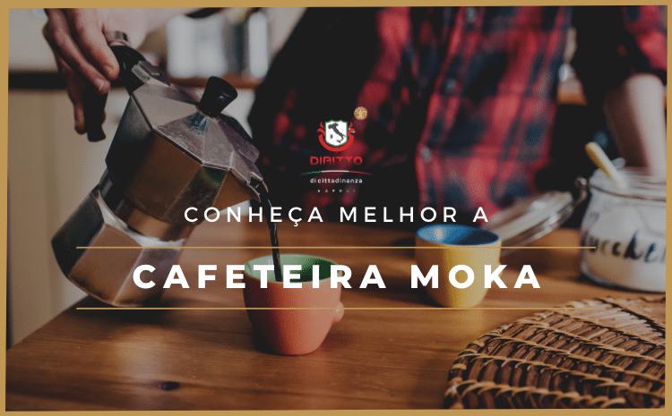 Conheça a cafeteira Moka, mais uma colaboração italiana para o mundo
